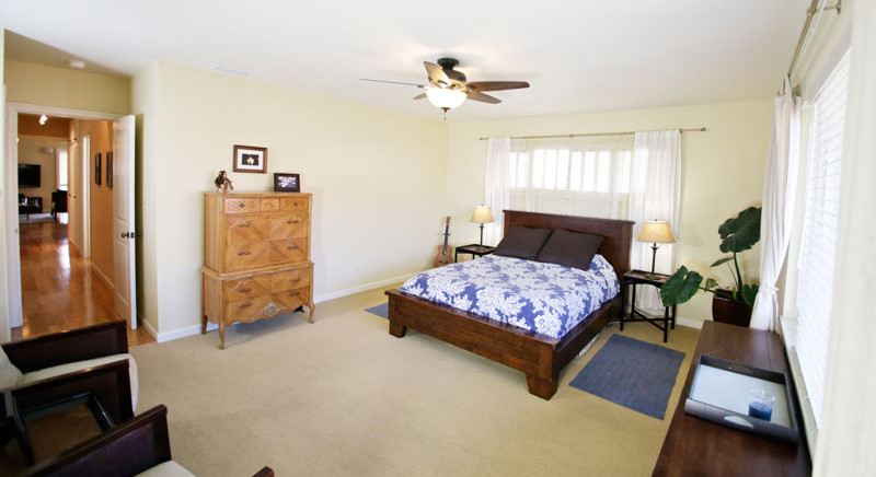 Master Bedroom of 2621 State St. 4 in Villa Constance North in Santa Barbara listed for $669,000 by Thomas C. Schultheis, Broker Associate at Berkshire Hathaway
