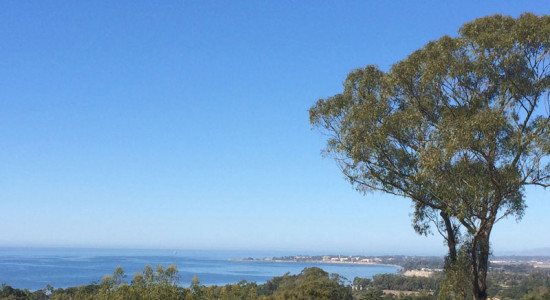Panoramic Ocean view from 1376 Estrella Dr. in Hope Ranch Santa Barbara, CA. listed for $3,700,000 by Thomas Schultheis, Broker Associate at berkshire Hathaway HomeServices