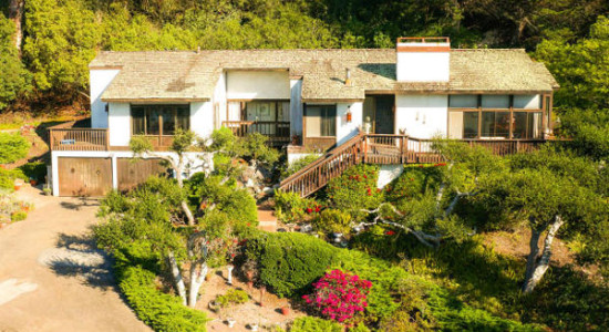 Front-  1376 Estrella Dr. in Hope Ranch Santa Barbara, CA. listed for $3,700,000 by Thomas Schultheis, Broker Associate at berkshire Hathaway HomeServices