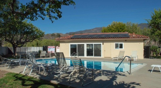 Pool/Poohouse - Grounds  -  4128 Via Andorra D in Santa Barbara CA for $479,000. Listed by Thomas Schultheis, Broker Associate at berkshire Hathaway HomeServices