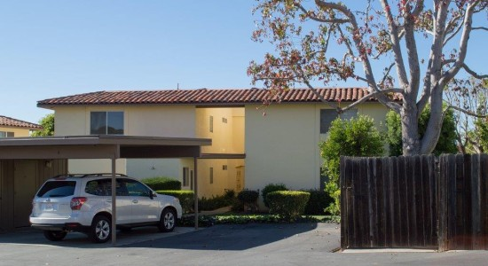 Rear view - 4128 Via Andorra D in Santa Barbara CA for $479,000. Listed by Thomas Schultheis, Broker Associate at berkshire Hathaway HomeServices