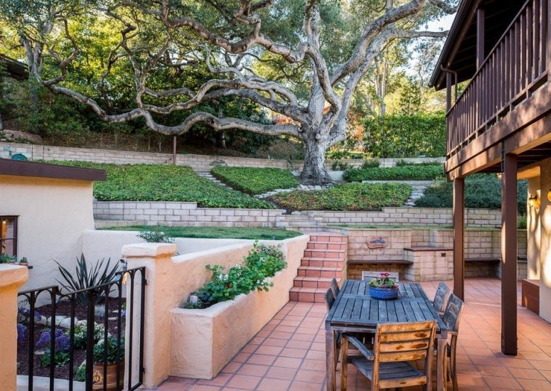 907 Fellowship - Patio & Yard - Sold by Thomas Schultheis of Berkshire Hathaway HomeServices in Santa Barbara